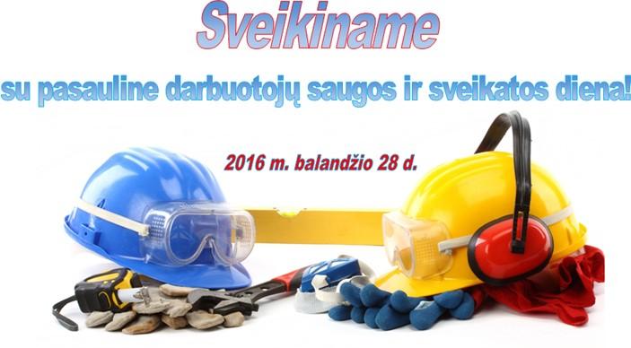 Darbu sauga 2016